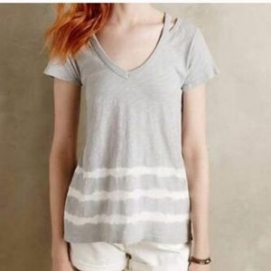 Anthropologie Left of center top size xs